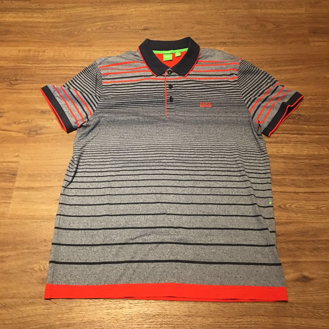 563824511 Hugo Boss Polo Shirt Size 2XL, Men's Fashion, Clothes, Tops on Carousell