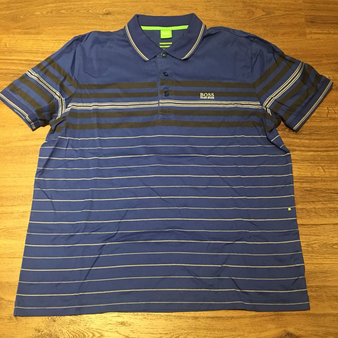 3fde073024 Hugo Boss Polo Shirt Size XL, Men's Fashion, Clothes, Tops on Carousell