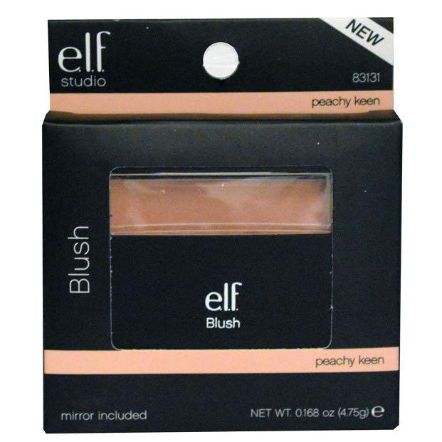 Instock Elf Blush Peachy Keen Mirror Included