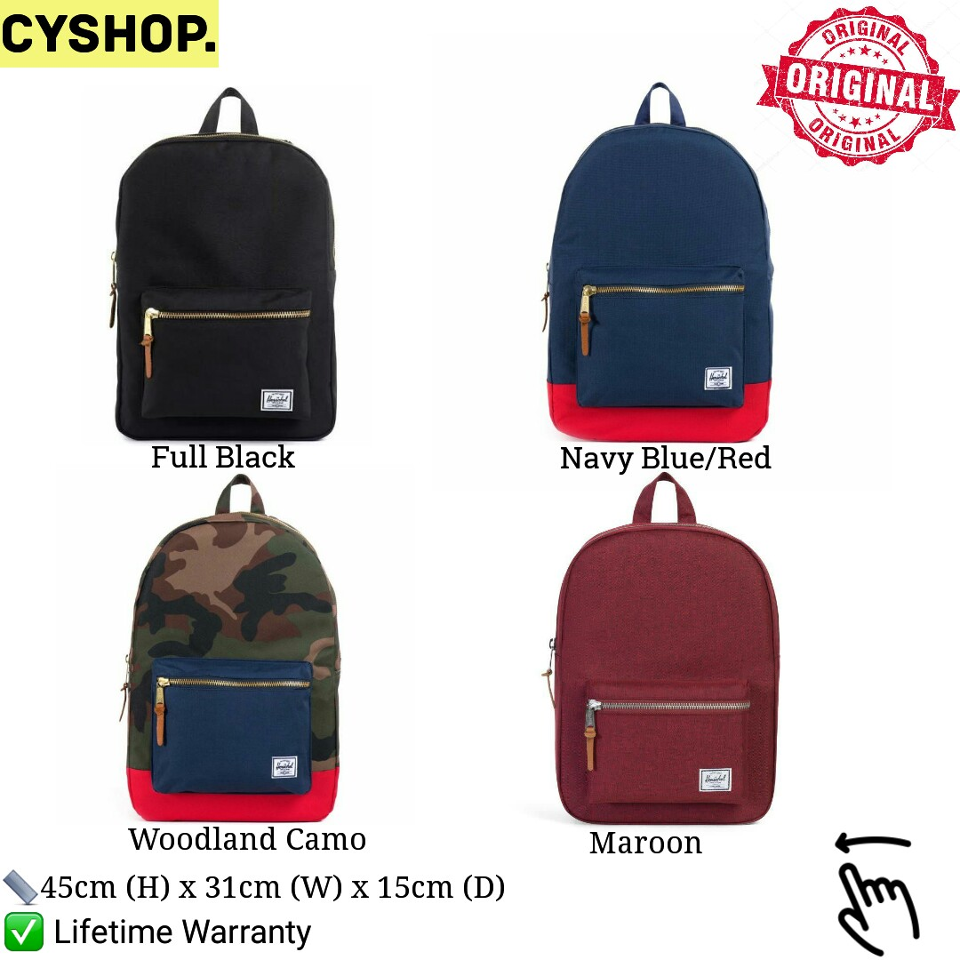 639d0edd8f IN-STOCK  Herschel Supply Classic Settlement Bags