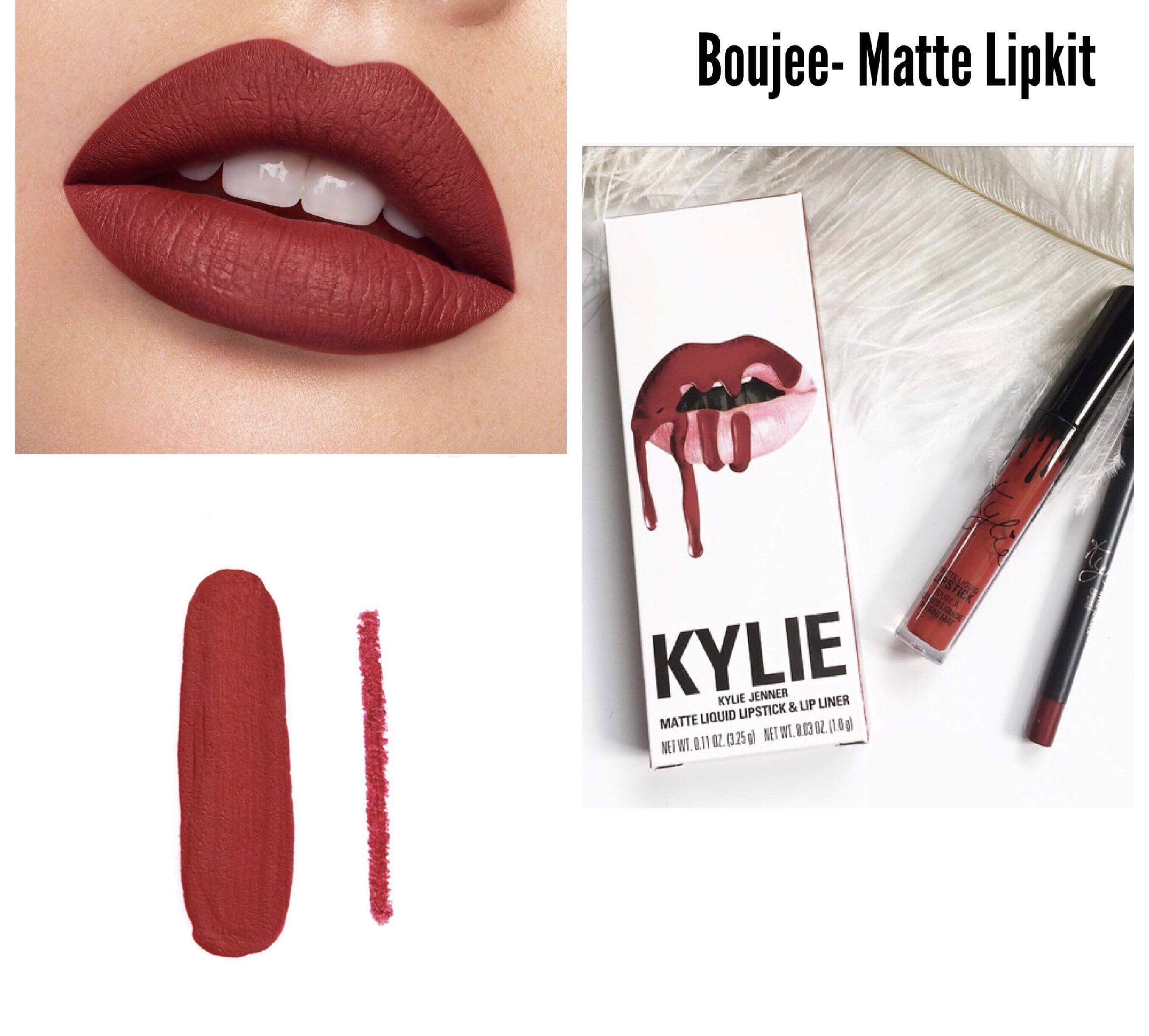 Kylie Boujee Lip Kit Best Seller Health Beauty Makeup On Carousell Original Usa
