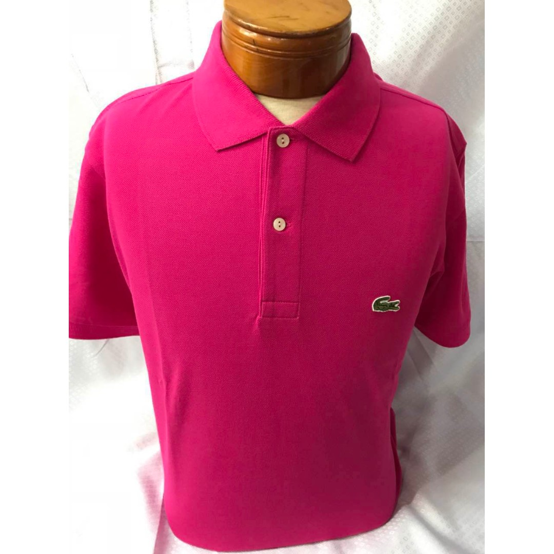 8544efb6 Lacoste Polo shirt men (overruns) size 4,5,6,7, Men's Fashion, Clothes,  Tops on Carousell