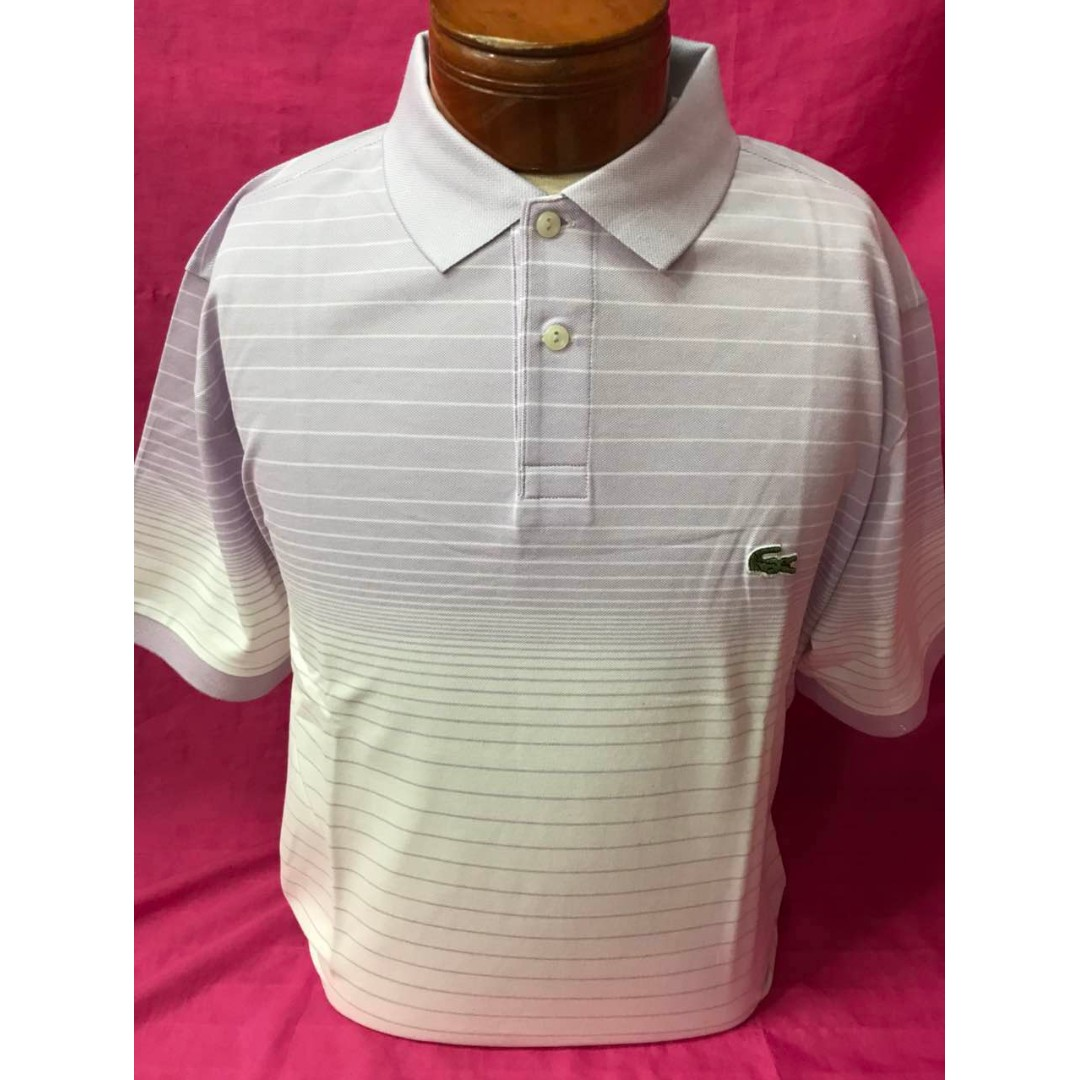 5d3d9b3f Lacoste Polo shirt men (overruns) size 6,7, Men's Fashion, Clothes ...