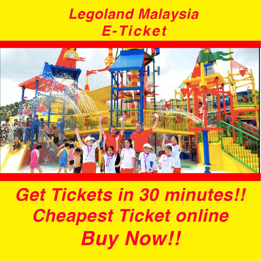 Legoland Malaysia Tickets Entertainment Attractions On Carousell Tiket Johor Bahru Theme Park Dan Water