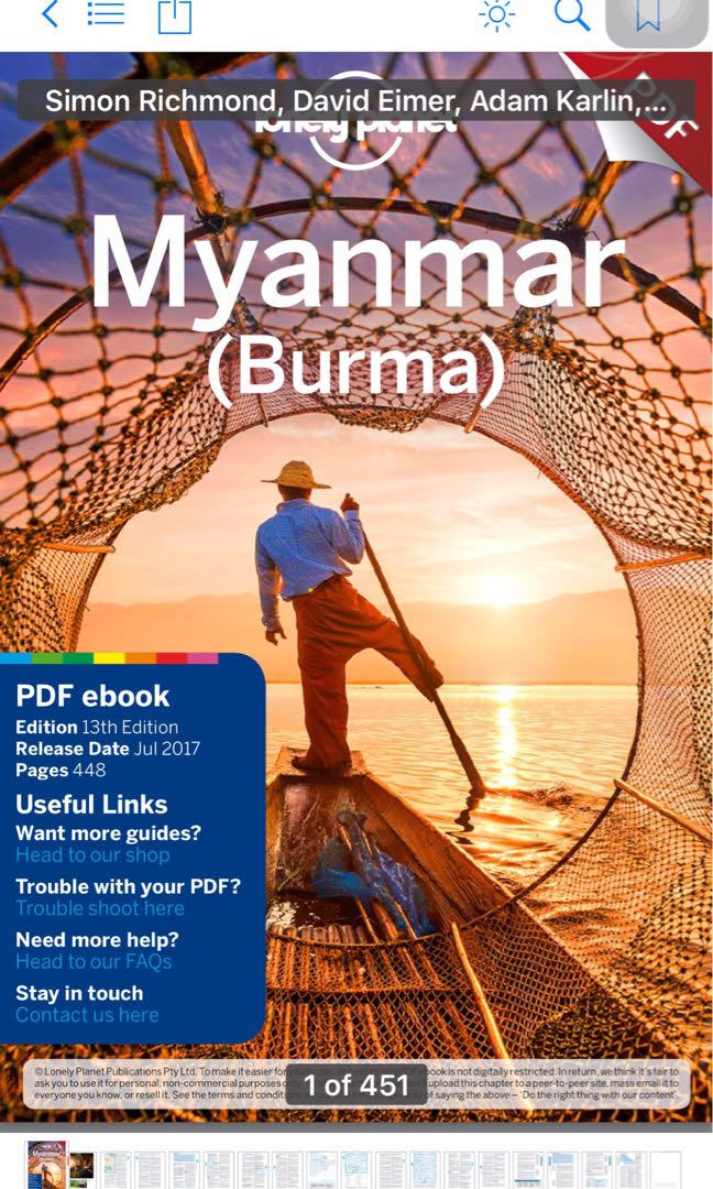 Lonely planet myanmar burma travel guide books stationery non share this listing fandeluxe Image collections