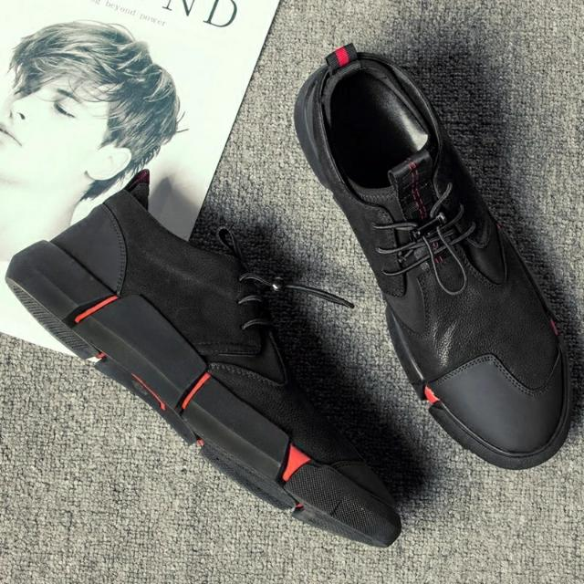 casual shoes, British trend plate shoes
