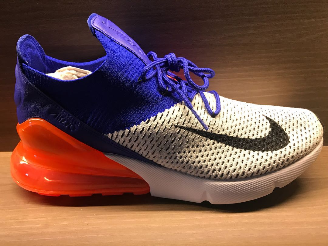 2cc4f214fc Nike Air Max 270 flyknit, Men's Fashion, Footwear, Sneakers on Carousell