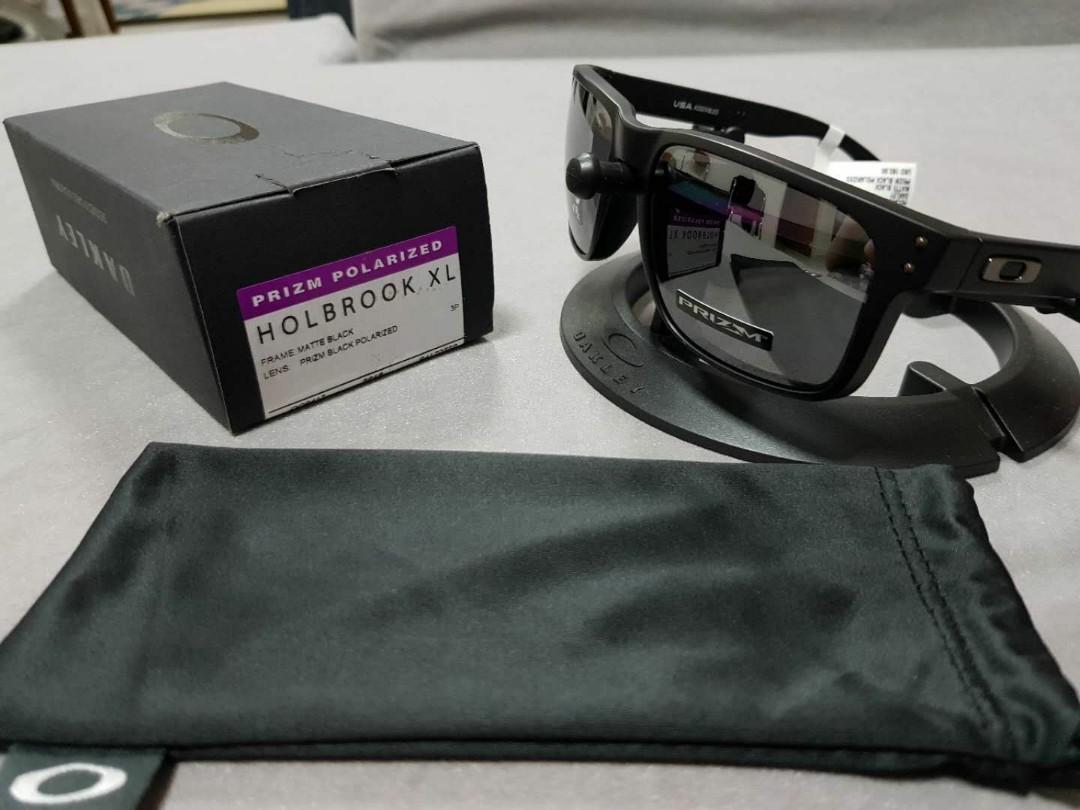 fd404fc4de Oakley holbrook XL matte black frame prizm black polarized lens ...