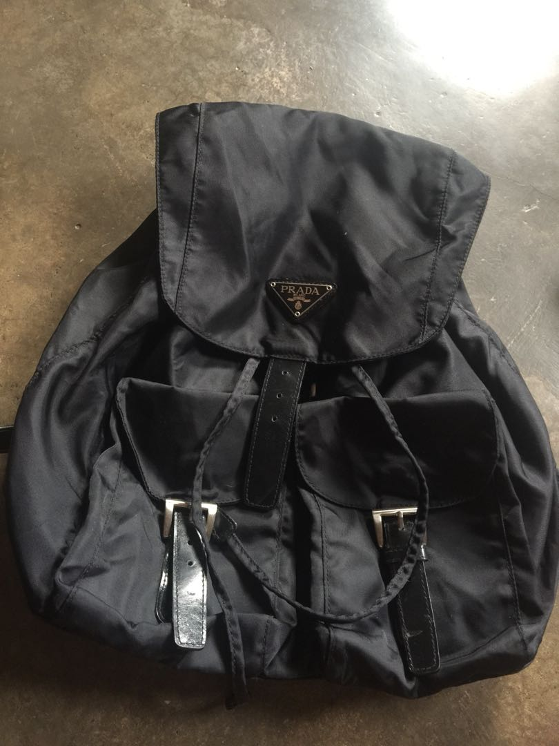 d45763a01447 original Prada Backpack, Women's Fashion, Bags & Wallets on Carousell