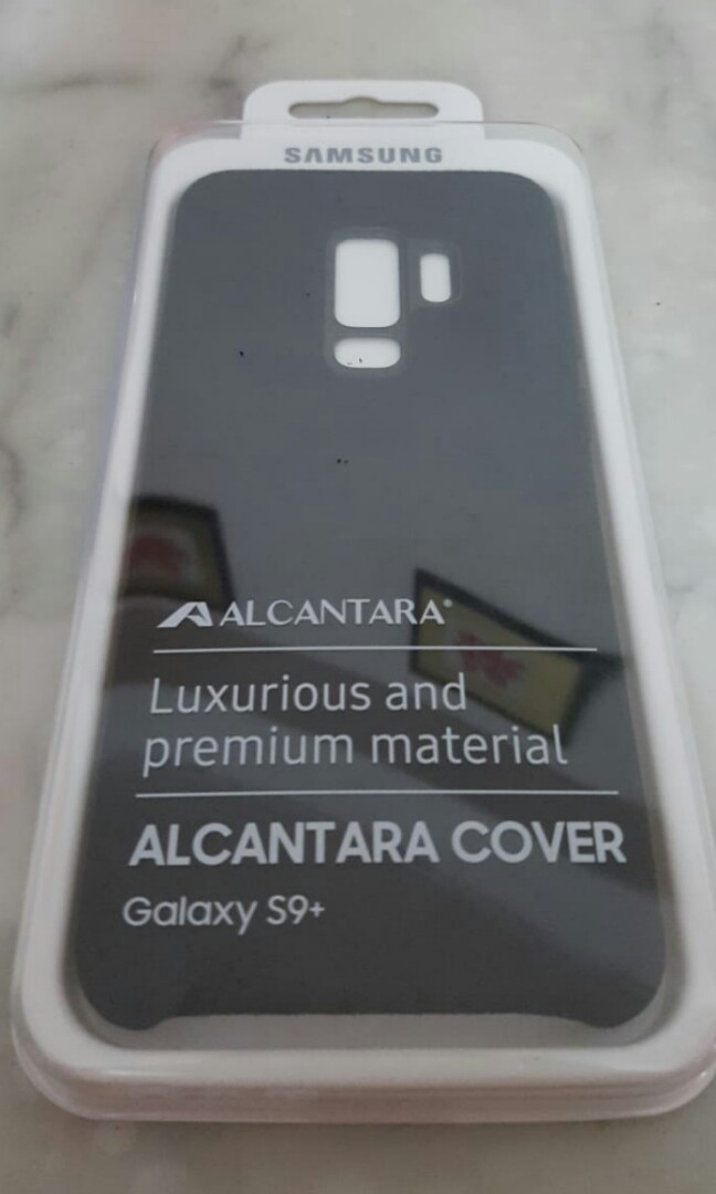 new concept 81df5 669f3 Samsung S9+ Alcantara phone cover original