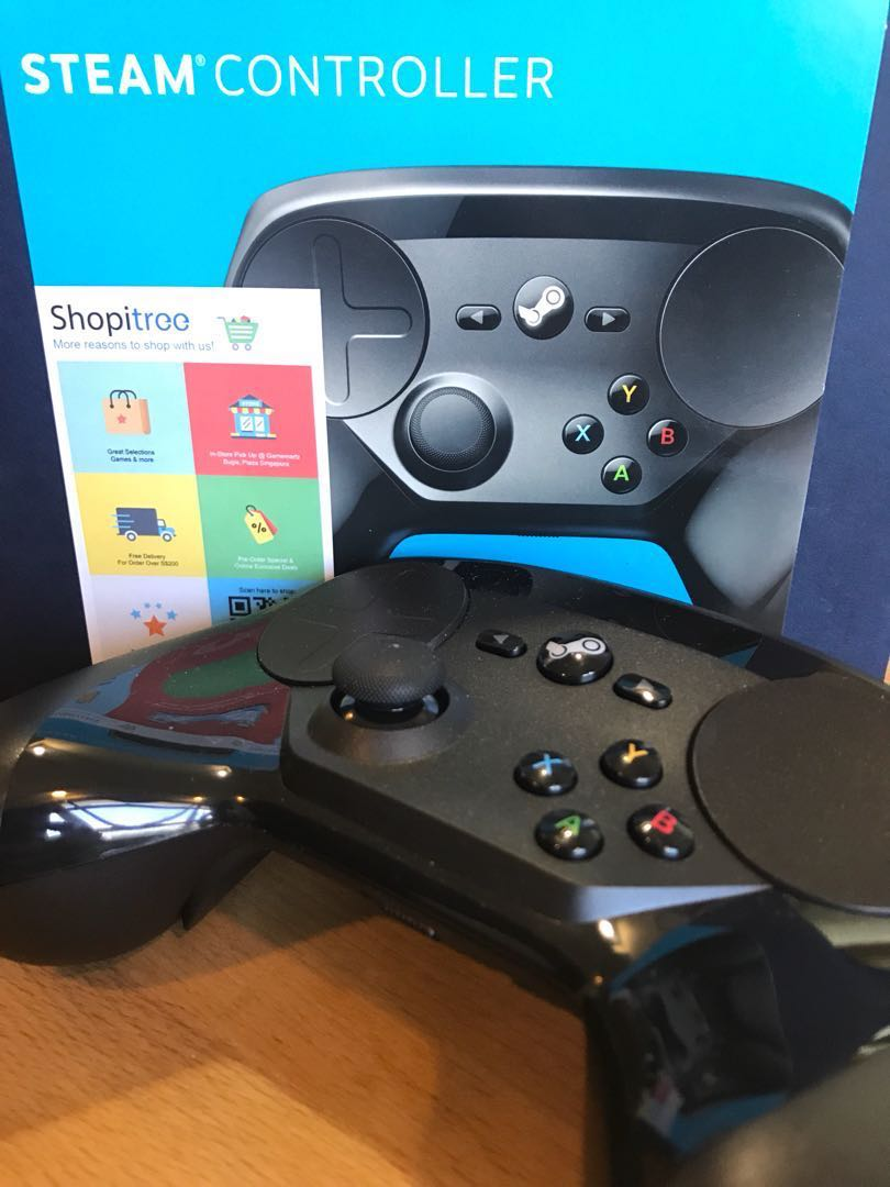 Steam Controller Can Be Used With Ps4 And Xbox One Too Toys Hori Tactical Assault Commander Grip Type G1 For 3 Photo