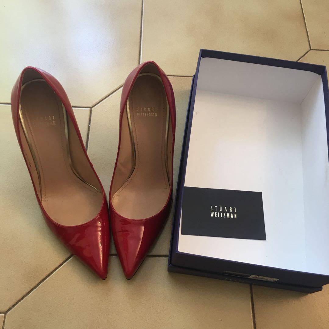 Stuart Weitzman Red Pumps Size 9