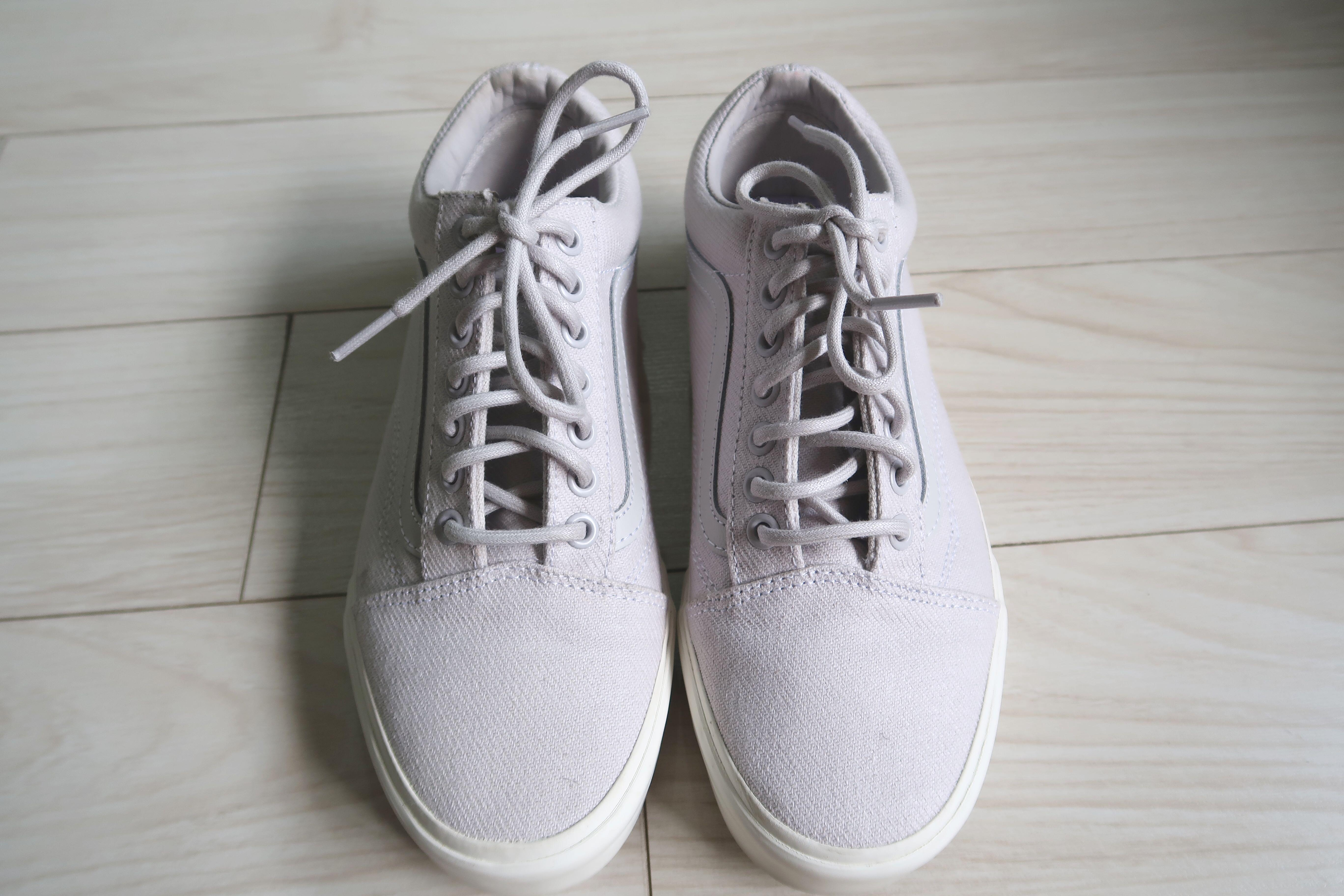 Vans Light Purple + White Sneakers