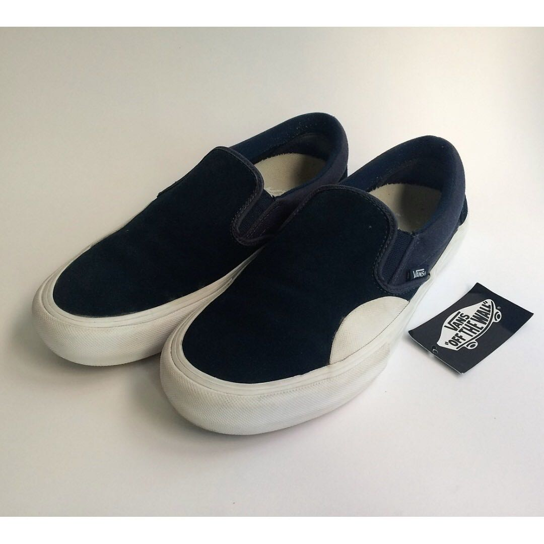 5c19bcc87002b0 Vans Slip-On Pro Rubber Dress Blue White