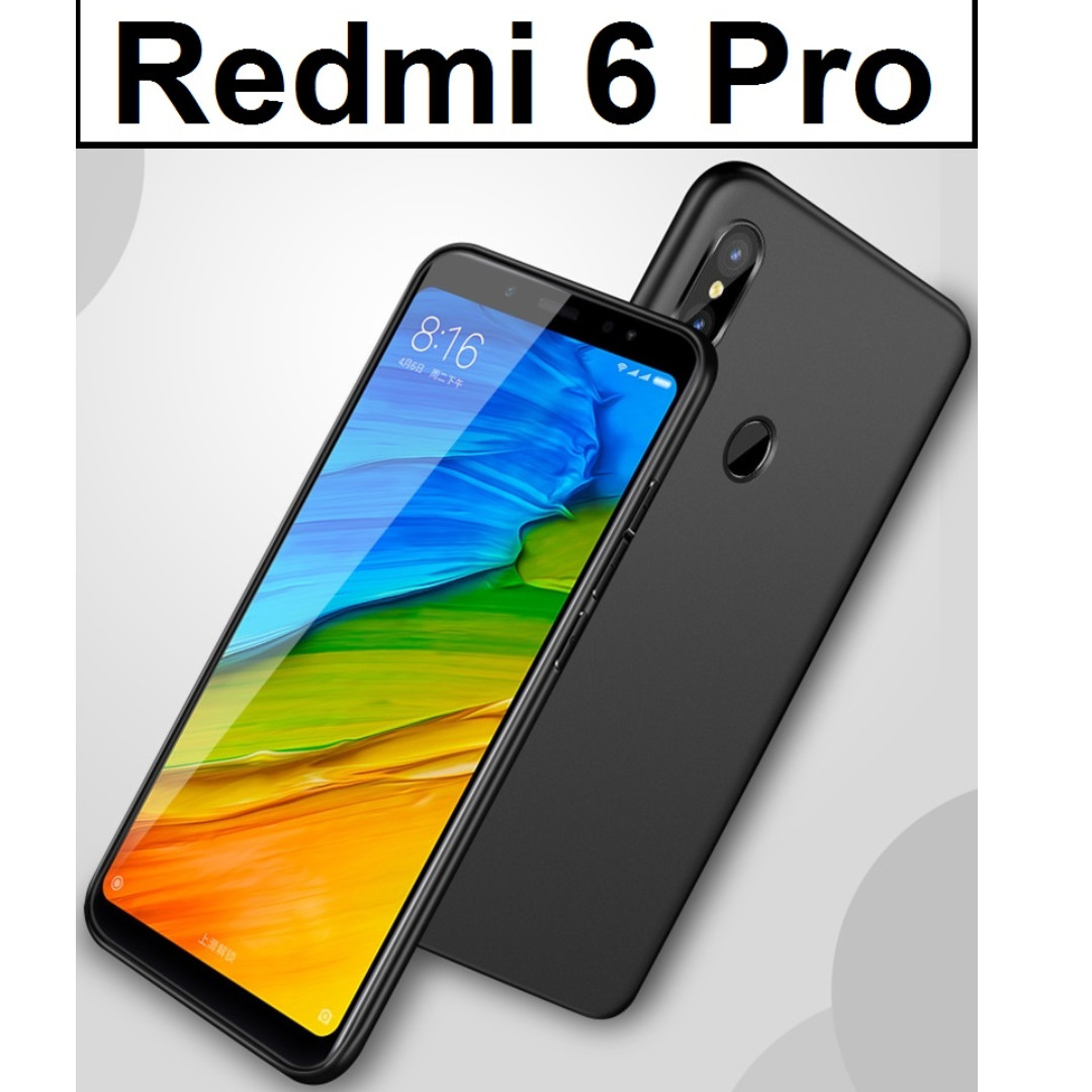 Xiaomi Redmi 6 Pro Ultra Slim Matte Precise Fit Case Casing, Mobile Phones & Tablets