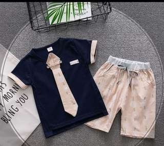 (6m-4yrs) Two Pieces Casual Set