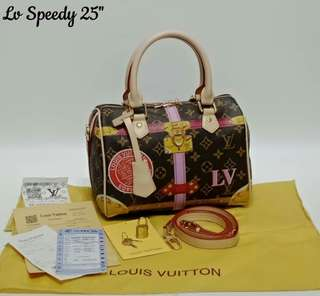 Louis Vuitton Speedy 25 Summer Trunk Collection Monogram