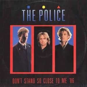 "arth12 THE POLICE Don't Stand So Close To Me '86 12"" Inch Single Vinyl Record"