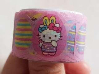 Hello Kitty + Pompompurin Sticker