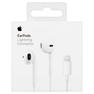 Original Apple Earpods with Lightning Connector For ios earphone iPhone earphone