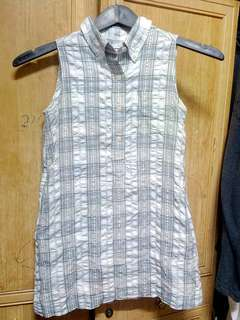 Uniqlo Kid Shirt Dress size 5-6y