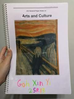A Level GP Arts and Culture