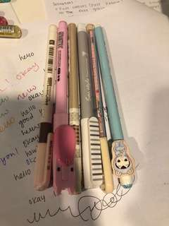 Cute pens for sale (bundle)