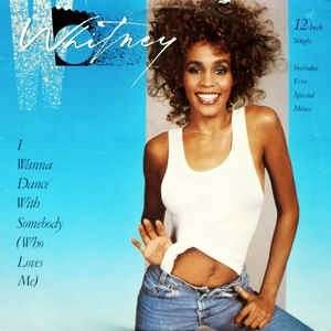 "arth12 WHITNEY HOUSTON I Wanna Dance With Somebody (Who Loves Me) 12"" Inch Single Vinyl Record"
