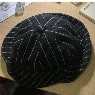 🚚 黑白條紋漁夫帽
