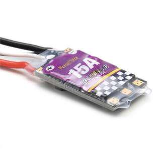 Racerstar MS Series 15A ESC BLHeLi_S OPTO 2-4S Supports Dshot600 for RC Drone FPV Racing Multi Rotor