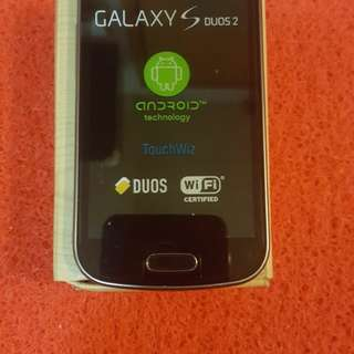 Galaxy duse brand new dule sim original
