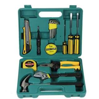 16PCS CAR REPAIR TOOL KITS SCREWDRIVER COMBINATION HOUSEHOLD SET HARDWARE TOOL BOX