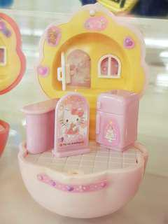 Hello Kitty and Little Twin Star Miniature Rooms