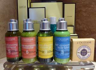 🚚 Loccitane amenities(travel kit)