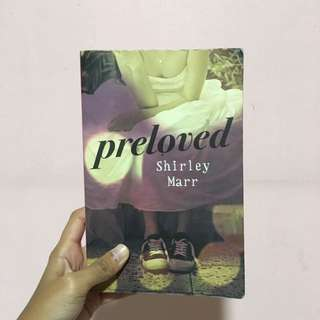 "YA Fiction ""Preloved"" by Shirley Marr"
