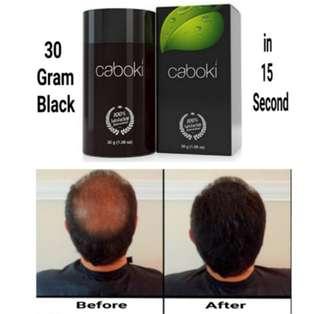 Hair loss fiber