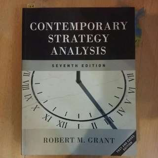 Contemporary Strategy Analysis 7th Edition