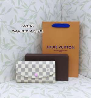 Louis Vuitton Emilie Azur Wallet