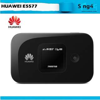 🚚 4G MIFI HUAWEI E5577 (4G 150mbps 10WIFI Share Max 6 or 10hr)