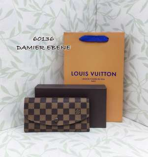 Louis Vuitton Emilie Damier Wallet