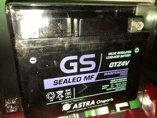 **Sale** Brand new battery GS-GTZ4V for Yamaha Sniper / Y15ZR