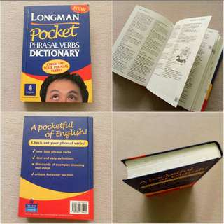 Longman Pocket English Phrasal Verbs Dictionary