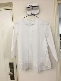 HM cotton 韓款中袖娃娃恤(98%新)SizeF