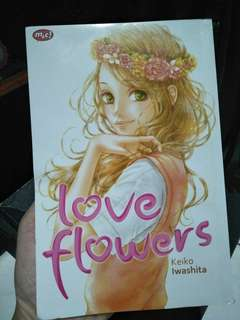Komik/Comic berjudul Love Flowers