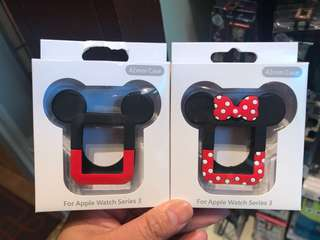 PO HK mickey and Minnie iWatch frame cover
