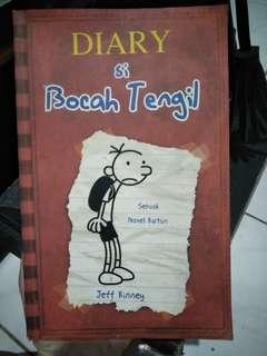 Buku bacaan berjudul Diary si Bocah Tengil