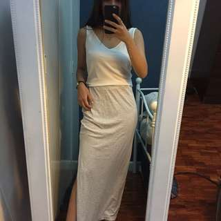 Long Skirt with slit