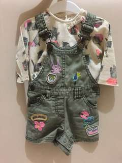 Next baby overall patch set