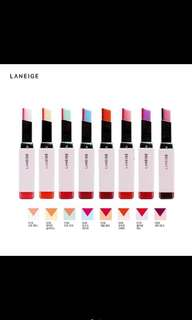 Laneige two tone tint lip bar stick