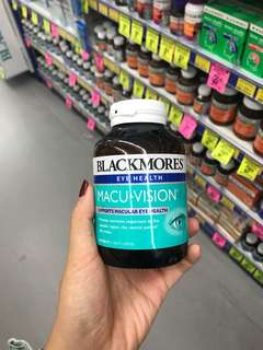 150 Tablets Blackmores Macu Vision